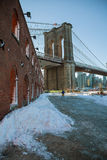 Brooklyn Bridge Park, New York City Stock Images