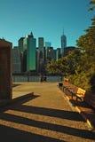 Brooklyn Bridge Park, New York City, USA Royalty Free Stock Images