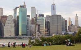 Brooklyn Bridge Park Royalty Free Stock Photo