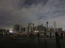 Brooklyn Bridge Park Pier stock photos