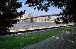 Brooklyn Bridge Park. Stock Image