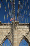 Brooklyn Bridge Pillar Royalty Free Stock Photos