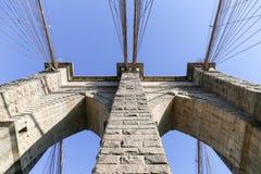 Brooklyn Bridge Pillar Stock Photos