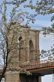 Brooklyn Bridge Spring Royalty Free Stock Photography