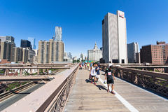 Brooklyn Bridge start Royalty Free Stock Images