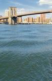 Brooklyn Bridge. Brooklyn Bridge at sunny day Stock Photo