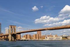 Brooklyn Bridge. Brooklyn Bridge at sunny day Royalty Free Stock Photo
