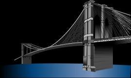 Brooklyn Bridge, Suspension Bridge Royalty Free Stock Photography