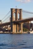 Brooklyn Bridge Tower Royalty Free Stock Photo