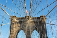Brooklyn Bridge Tower Royalty Free Stock Images