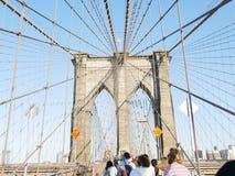 Brooklyn Bridge, U.s.a. Royalty Free Stock Photos