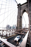 Brooklyn Bridge. Vertical shot Royalty Free Stock Photos