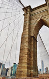 Brooklyn Bridge. Stock Photography