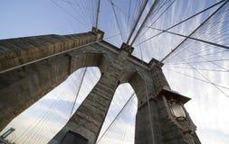 Brooklyn Bridge Wide Angle 4 Stock Image