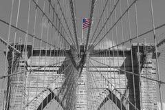 Brooklyn brigge i New York Royaltyfri Foto