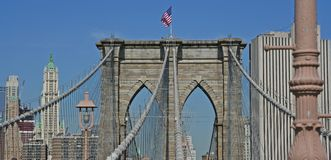 Brooklyn bro Arkivbild