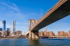 Brooklyn bro royaltyfria foton