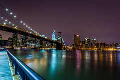 Brooklyn bro Royaltyfria Bilder