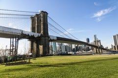 Brooklyn bro i New York Royaltyfria Bilder