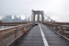 Brooklyn bro Manhattan, nowy jork Royaltyfria Bilder