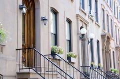 Brooklyn-Brownstones Stockfotografie