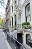 Brooklyn Brownstones Royalty Free Stock Photography