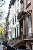 Brooklyn Brownstones Royalty Free Stock Images