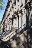 Brooklyn Brownstones Royalty Free Stock Photos