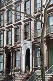 Brooklyn Brownstones Stock Photo