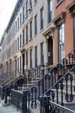 Brooklyn Brownstones Royalty Free Stock Photo