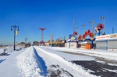 Brooklyn, Coney Island, NYC, USA Royalty Free Stock Photos