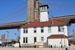 Brooklyn-Eiscreme-Fabrik stockfoto