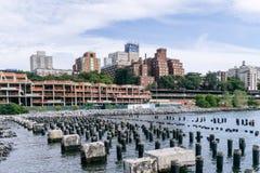 Brooklyn em New York City fotos de stock