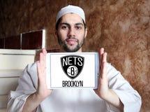Brooklyn fängt amerikanisches Basketball-Team-Logo stockbilder