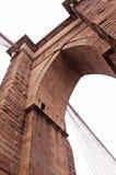 brooklyn för 7 bro close upp Fotografering för Bildbyråer