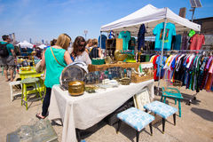 Brooklyn Flea Market Royalty Free Stock Images