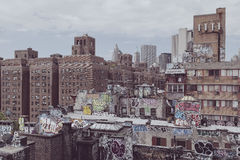 Brooklyn graffiti in the city of new york Royalty Free Stock Images