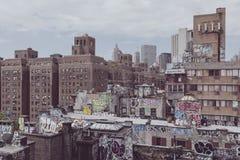 Brooklyn-Graffiti in der Stadt New York lizenzfreie stockbilder