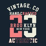 BROOKLYN graphique Image stock