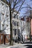 Brooklyn-Häuser Lizenzfreie Stockfotos