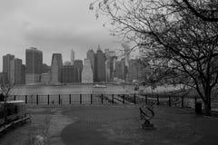 Brooklyn Height promenade. Royalty Free Stock Photography