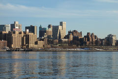 Brooklyn Heights in New York City Stock Image