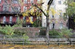 Brooklyn Heights promenad Arkivfoto