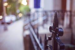 Brooklyn Heights staket fotografering för bildbyråer