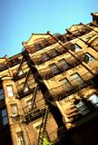 Brooklyn hus arkivbild