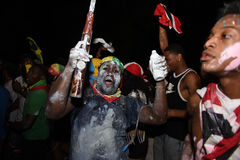 Brooklyn J'ouvert revelers Royalty Free Stock Image