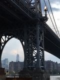Brooklyn a Manhattan Imagem de Stock Royalty Free