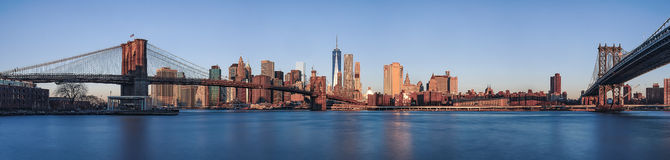 Brooklyn a Manhattan Fotografia Stock