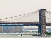 Brooklyn and Manhattan bridges Royalty Free Stock Photos