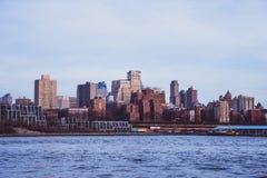 Brooklyn from Manhattan royalty free stock photos